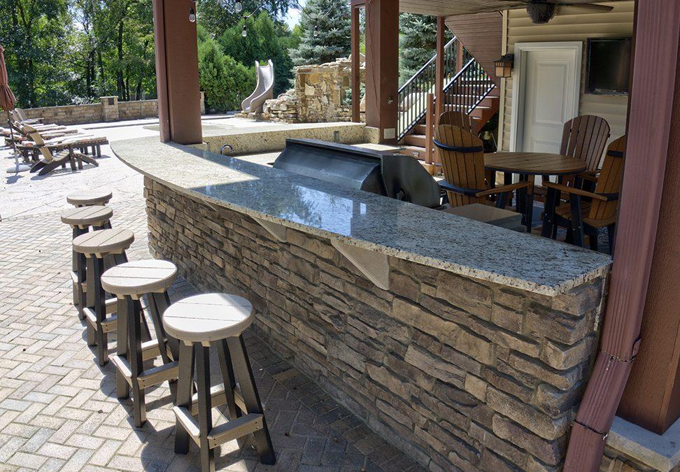 Pool Side Kitchen
